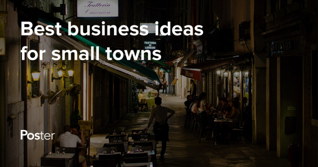 business ideas for small towns