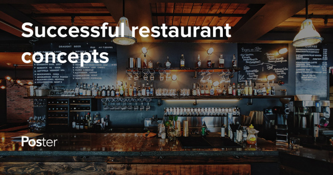 Successful restaurant concept ideas