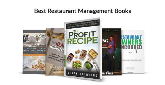 Best Restaurant Management Books — Poster