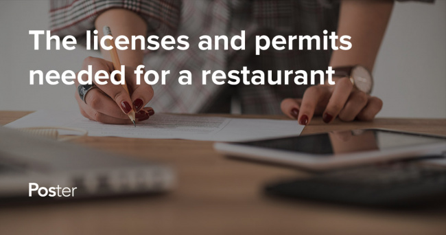 permits and licenses for a restaurant