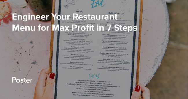How to make a restaurant menu in 7 proven steps