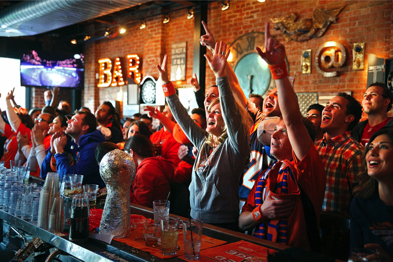 Super Bowl promotion ideas for bar