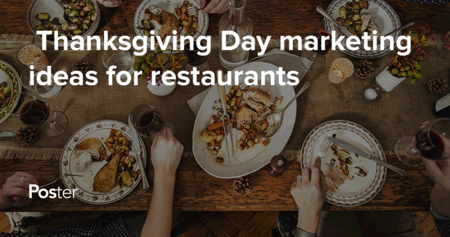 Thanksgiving Day service ideas for restaurants